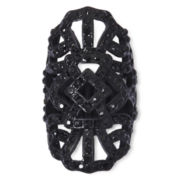 Decree® Black Lacy Cutout Stretch Ring