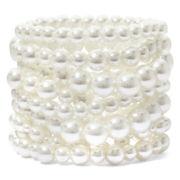 Decree® Multicolor Bead Coil Bracelet
