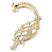 Decree® Gold-Tone Peacock Ear Cuff