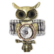 Arizona Owl Stretch Ring
