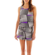 Bisou Bisou® Sleeveless Romper