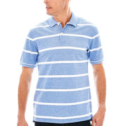 St. John's Bay® Legacy Oxford Piqué Polo