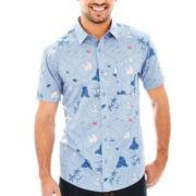Treasure Short-Sleeve Woven Shirt