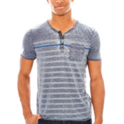 i jeans by Buffalo Caino Short Sleeve Knit Tee