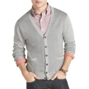 IZOD® Long-Sleeve Fine-Gauge Cardigan Sweater