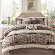 Madison Park Stanford Medallion 7-pc. Comforter Set