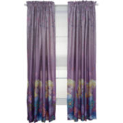 Disney Frozen Breeze Rod-Pocket Room Darkening Curtain Panel