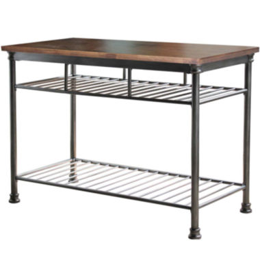 jcpenney.com | Landry Wood-Top Kitchen Island