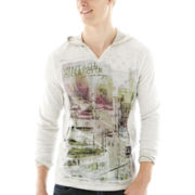 i jeans by Buffalo Carto Long-Sleeve Hoodie Tee