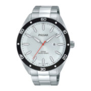 Pulsar® Mens Stainless Steel Watch PH9093X