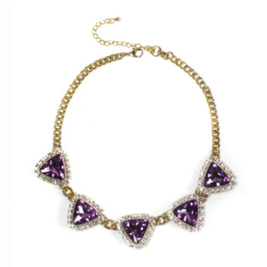 jcpenney.com | Mixit™ Purple Stone Statement Necklace