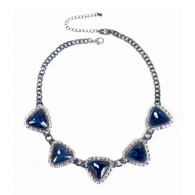 jcpenney.com | Mixit™ Blue Stone Statement Necklace