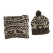 MUK LUKS® Cap and Funnel Set