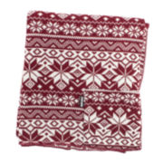 MUK LUKS® Pattern Wrap with Pockets