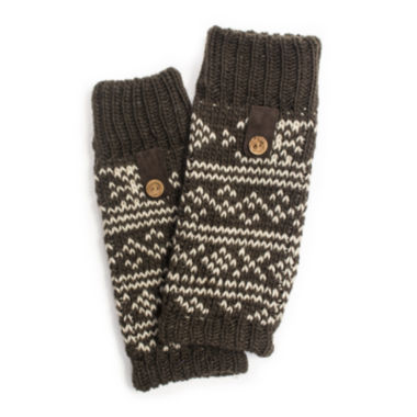 jcpenney.com | MUK LUKS® Fair Isle Arm Warmers