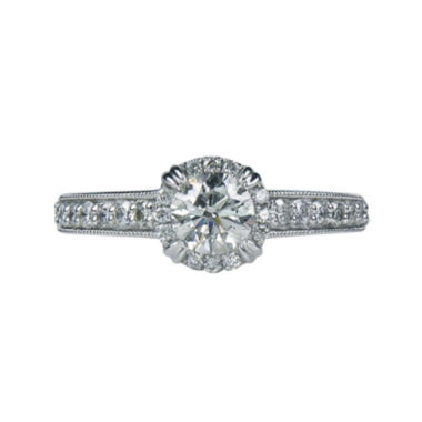 jcpenney.com | LIMITED QUANTITIES 1 CT. T.W. Diamond Framed Engagement Ring