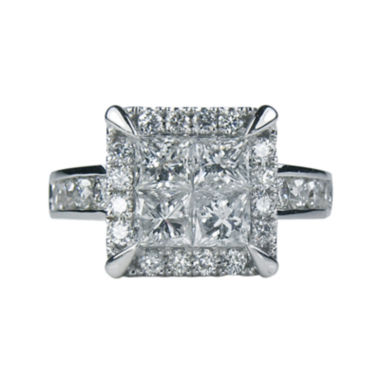 jcpenney.com | LIMITED QUANTITIES 2½ CT. T.W. Diamond Quad Ring