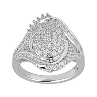 jcpenney.com | LIMITED QUANTITIES 1 CT. T.W. Diamond Cluster Ring