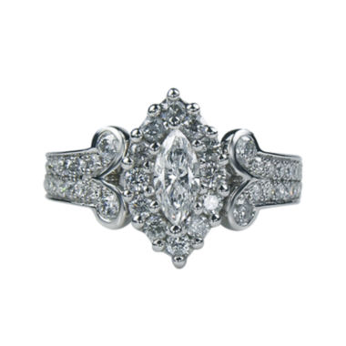 jcpenney.com | LIMITED QUANTITIES1¼ CT. T.W. Diamond Marquise-Cut Ring