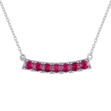 jcpenney.com | Lab-Created Ruby Sterling Silver Necklace