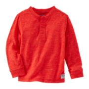 OkshKosh B'gosh® Textured Henley - Toddler Boys 2t-5t