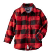 OshKosh B'gosh® Flannel Shirt - Toddler Boys 2t-5t