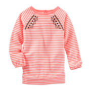 OshKosh B'Gosh® Long-Sleeve Striped Knit Tunic - Toddler Girls 2t-5t