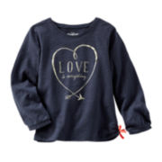 OshKosh B'gosh® Long-Sleeve Graphic Tee - Toddler Girls 2t-5t