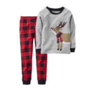 Carter's® Reindeer Pajamas - Baby Boys 6m-24m