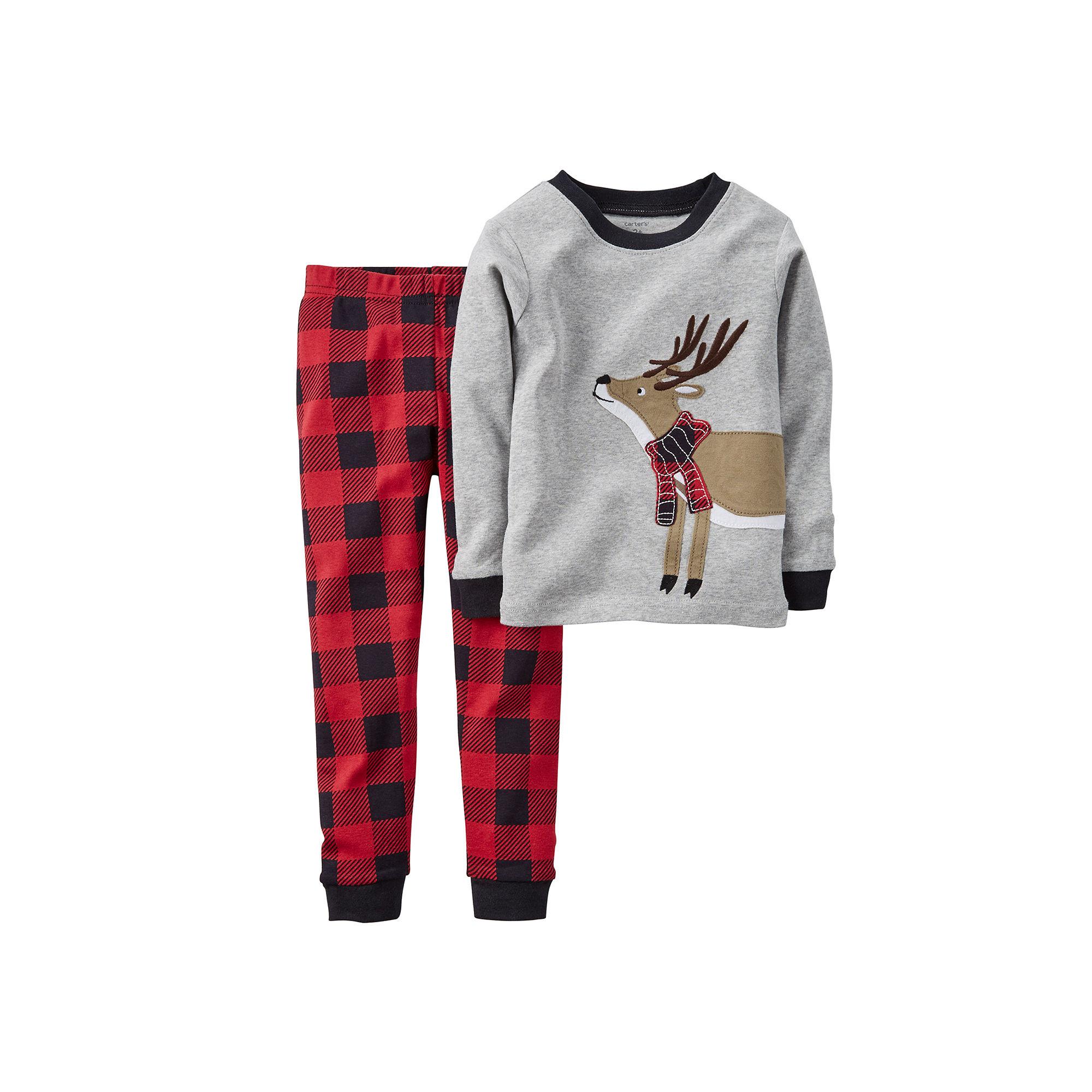 8a39ccac3 UPC 888510858430 - Carter s Reindeer Pajamas - Baby Boys 6m-24m ...