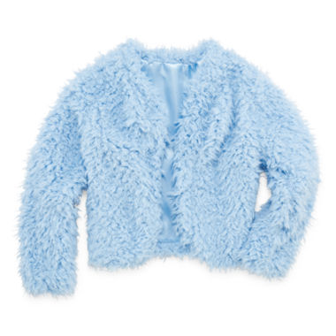 jcpenney.com | Beautees Faux Fur Jacket - Girls 7-16