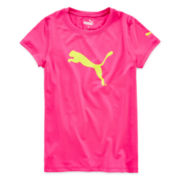 Puma® Crewneck Tech Tee - Girls 7-16
