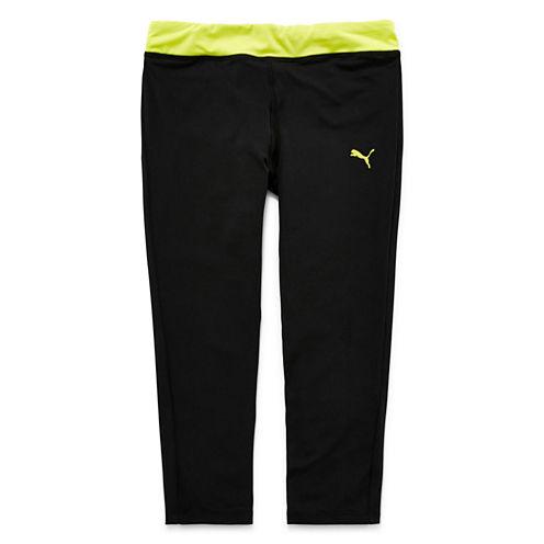 Puma® Athletic Tech Capri Pants - Girls 7-16