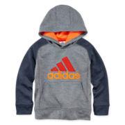 adidas® Fleece Pullover Hoodie - Preschool Boys 4-7
