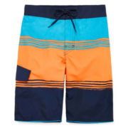 Arizona Painter Stripe Swim Trunks - Boys 8-20
