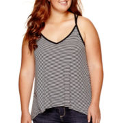 Arizona Striped Swing Cami - Plus