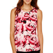 Worthington® Sleeveless Woven Shirt - Petite