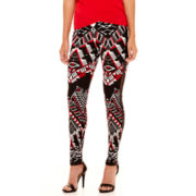 Bisou Bisou® Colorblock Printed Leggings