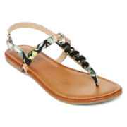 Arizona Mariah Embellished Slingback Sandals