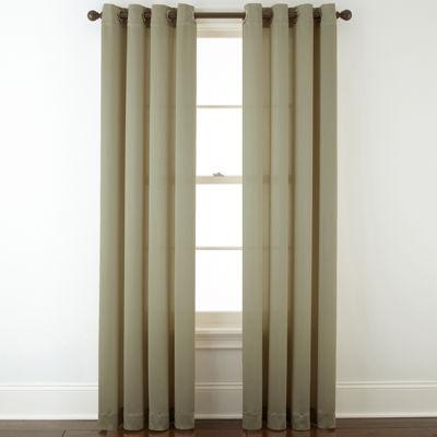 royal velvet hilton grommet top curtain panel