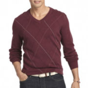 IZOD® Fine Gauge Argyle Sweater