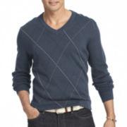 IZOD® Fine Gauge Argyle Sweater