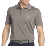 IZOD® Golf Short-Sleeve Grid Polo Shirt