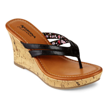 jcpenney.com | Arizona Holly Wedge Sandals