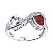 Love Grows™ Genuine Garnet Ring