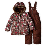 Joe Fresh™ 2-pc. Snowsuit - Girls 1t-5t