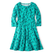 Arizona Ponte Skater Dress - Girls 6-16 and Plus