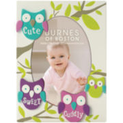 Burnes of Boston® Cute, Sweet, Cuddly Owls Tabletop Picture Frame