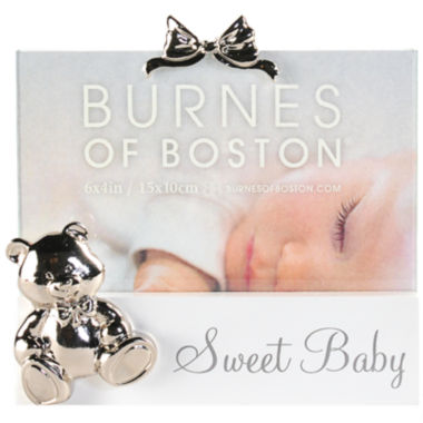 "jcpenney.com | Burnes of Boston® Sweet Baby 4x6"" Picture Frame"