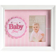 Burnes of Boston® Sweet Baby Girl Shadowbox Picture Frame